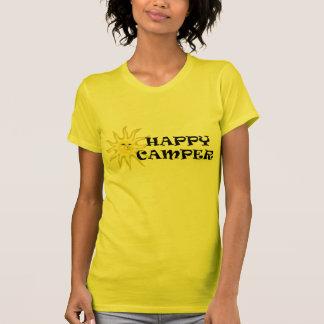 Camiseta menuda de las señoras de la sol del campi