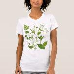 Camiseta menuda de las señoras de las hierbas