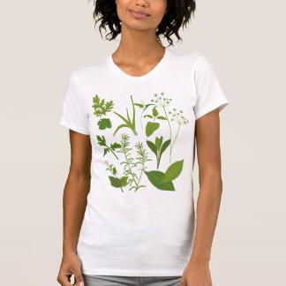 Camiseta menuda de las señoras de las hierbas remeras