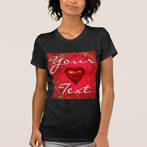 Camiseta menuda de las señoras del amor