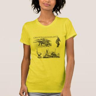 camiseta menuda de las señoras del cryptozoology
