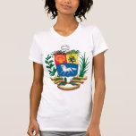 Camiseta menuda de las señoras del escudo de armas