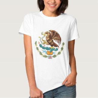Camiseta menuda de las señoras del escudo de armas playeras