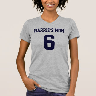 Camiseta menuda de las señoras del NÚMERO de las Playera
