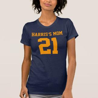 Camiseta menuda de las señoras del NÚMERO de las Playeras