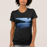 Camiseta menuda de las señoras - niebla del río Ch