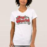 Camiseta menuda de las señoras sosas sosas del mun