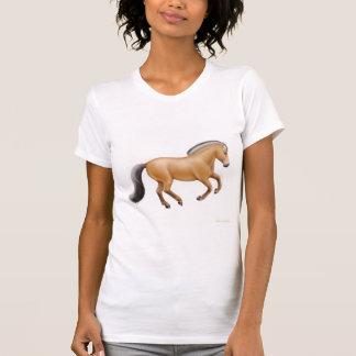 Camiseta menuda del fiordo noruego