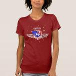 Camiseta menuda del fútbol de los E.E.U.U. de los