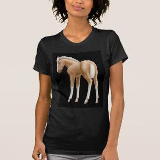 Camiseta menuda del potro de Haflinger
