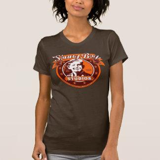 Camiseta menuda para mujer de los estudios del