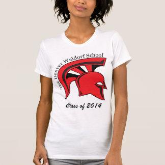 Camiseta menuda para mujer poleras