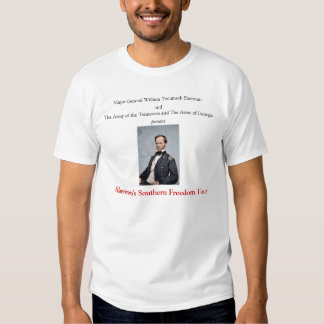 Camiseta meridional del viaje de la libertad de camisas