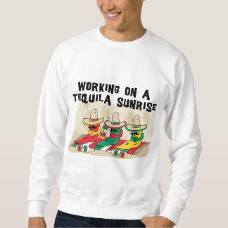 Camiseta mexicana divertida de la salida del sol