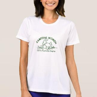 Camiseta micro de la fibra de las colinas de Sierr Playeras