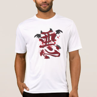 Camiseta micro de la fibra de los hombres malvados playeras