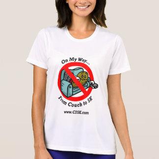 Camiseta micro de la fibra del programa de las