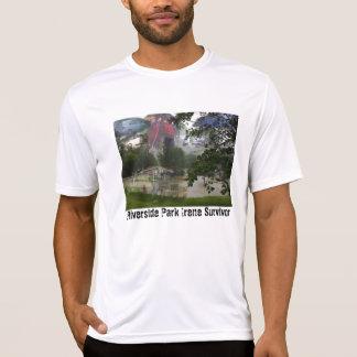 Camiseta micro de la fibra del superviviente del poleras