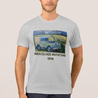 Camiseta milagrosa de las invenciones a partir de poleras