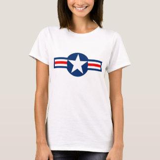 Camiseta militar de los E.E.U.U. Roundel
