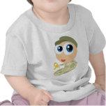 Camiseta militar del bebé