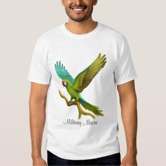 Camiseta militar del Macaw Remera