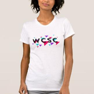 Camiseta minúscula del tornado para mujer