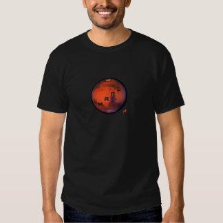 Camiseta misteriosa del planeta -- Marte - del Playeras