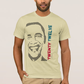 Camiseta moderna de la campaña de OBAMA 2012