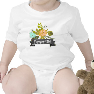 Camiseta moderna del boda del florista de la