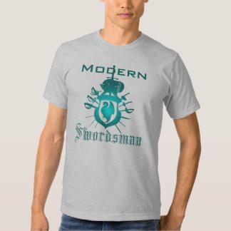 Camiseta moderna del escudo del dragón del camisas