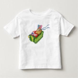 Camiseta moderna del niño de Santa Playeras