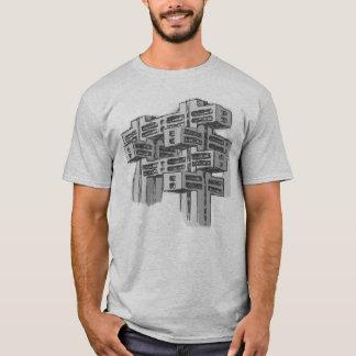 Camiseta modernista de la arquitectura del