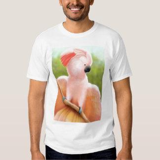 Camiseta moluqueña del Cockatoo Poleras
