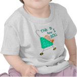 Camiseta/mono divertidos del bebé