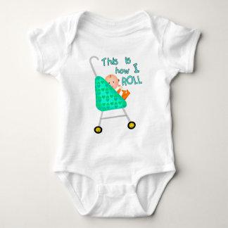 Camiseta/mono divertidos del bebé mameluco de bebé