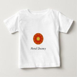 Camiseta moral de la decencia