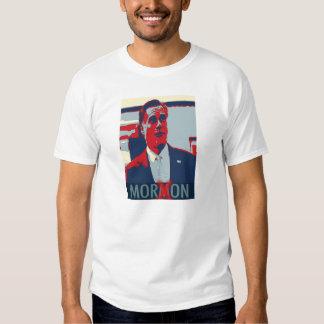 Camiseta mormona del Imbécil de Mitt Romney Remeras