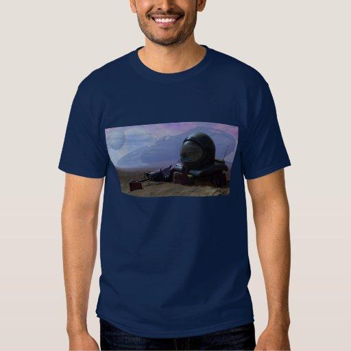 Camiseta muerta del astronauta camisas