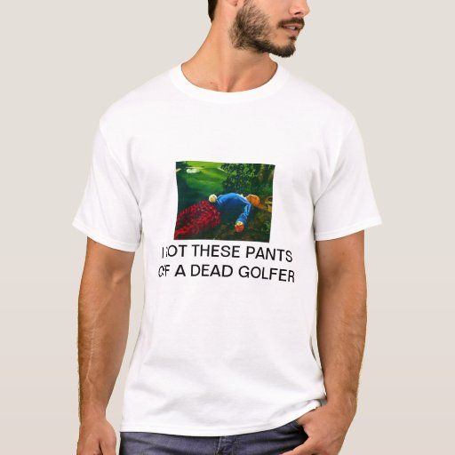 Camiseta muerta del golfista