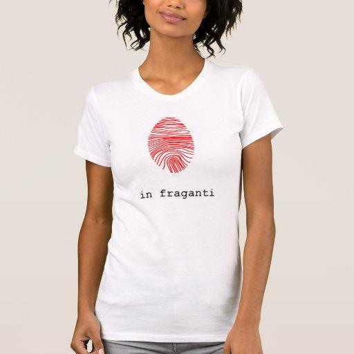 Camiseta mujer huella digital