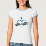 Camiseta mujer I arrolló CANSA ZAPATILLA DE DEPORT Playera