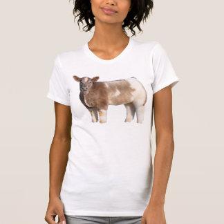 Camiseta mullida de la vaca