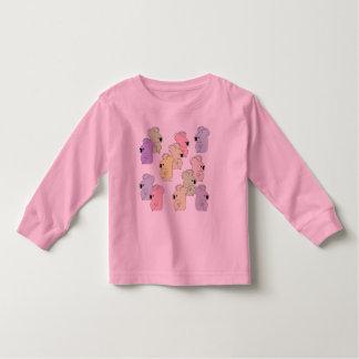 camiseta multi de la koala l/s del niño playeras