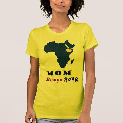 Camiseta multicultural de la familia -- Madre