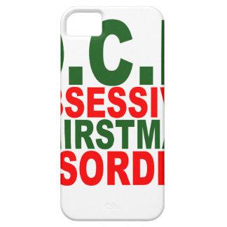 Camiseta N.png de la obsesión del navidad iPhone 5 Case-Mate Cobertura