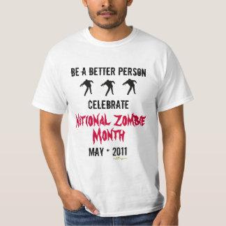 Camiseta nacional del mes del ZOMBI