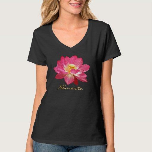 Camiseta Namaste 3 de la flor de Lotus Remera