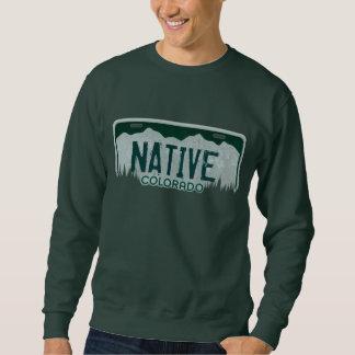 Camiseta nativa de los individuos de la placa de sudaderas encapuchadas
