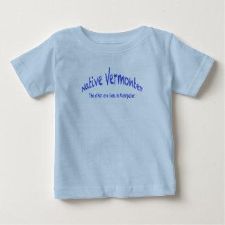 Camiseta nativa del jersey de la multa del bebé
